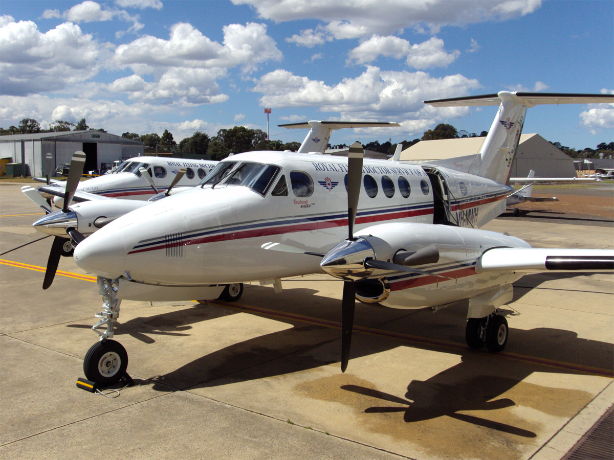 Royal Flying Doctor Service King Air photo