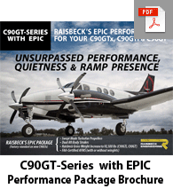 C90GT-Series with Raisbeck EPIC Brochure