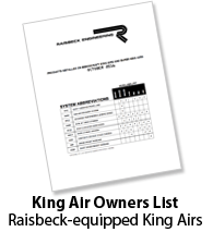 king air owners list