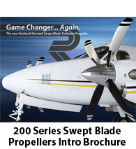 Raisbeck Swept Blade Propellers for 200 Series King Airs - Introductory Brochure