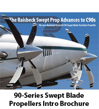 Raisbeck Swept Blade Propellers for 90 Series King Airs - Introductory Brochure