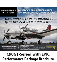 Raisbeck EPIC Performance Package for C90GT Series King Airs - Brochure