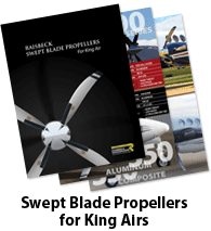 Raisbeck Swept Blade Propellers for King Airs Brochure